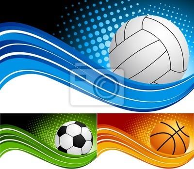 Ustaw sportu tła
