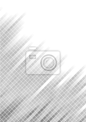 Vector srebrnym tle streszczenie z placu; clip-art