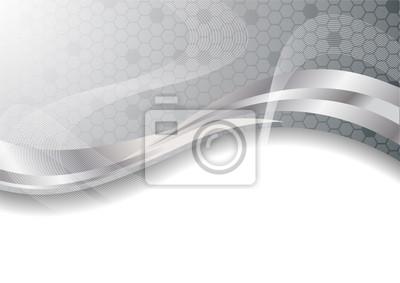 Vector srebro abstrakcyjny, wideo-art