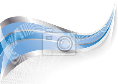 Vector streszczenie niebieskim tle; clip-art