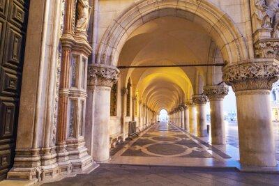 Naklejka Venezia, Colonnato di Piazza San Marco.