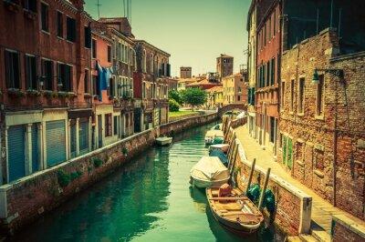 Naklejka Venice Canal Place