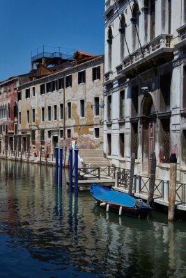 Venice street. Venice, Italy. Fondamenta Daniele canal