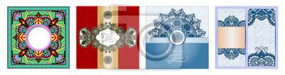 vintage floral background for your design