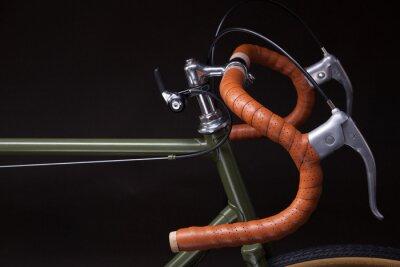 Naklejka Vintage kierownica rowerowa