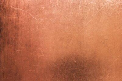 Naklejka Vintage z brązu lub blachy miedzianej, z blachy nieżelaznej jako tło