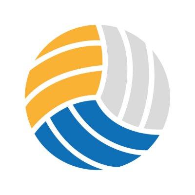 volleyball balloon sport equipment icon