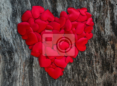Naklejka Walentynki serca