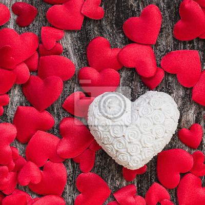 Walentynki w tle