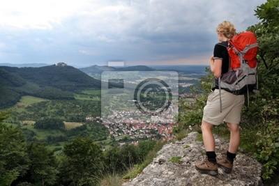 Wanderin auf der Schwäbischen Alb, Hohenneufen
