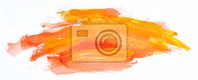 Naklejka Watercolour paint strokes