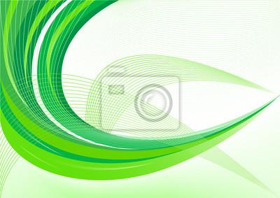 Wektor abstrakcyjna zielone tło