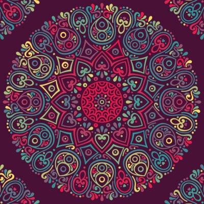 Naklejka Wektor indian Mandala