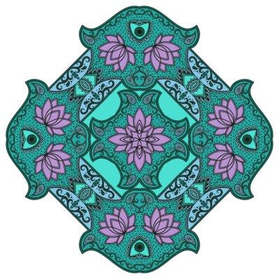 Naklejka Wektor kolor mandali.