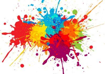 Naklejka Wektor kolorowy wzór tła. ilustracji wektorowych projektowania