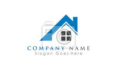 wektor logo nieruchomości
