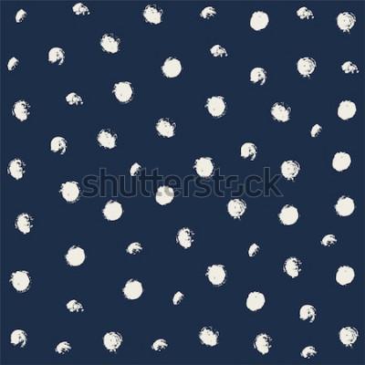 Naklejka Wektor shibori barwnik krawat. Bezszwowe ręcznie rysowane wzór. Atrament teksturowane japońskie tło. Nowoczesna kafelkowa tapeta batikowa. Akwarela niekończące się tło.