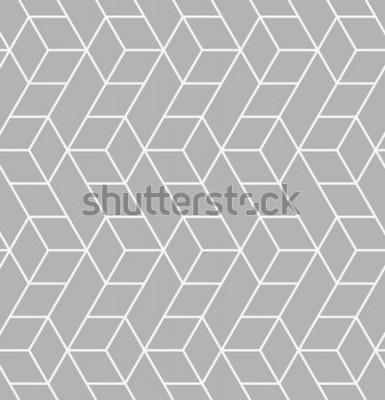Naklejka Wektor wzór Nowoczesna stylowa tekstura. Powtarzające się geometryczne płytki z trójkątami.