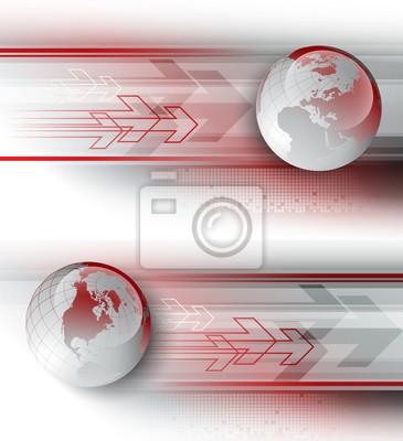 Naklejka Wektorowe Arrows. EPS 10