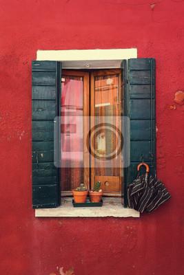 Wenecja. Okno