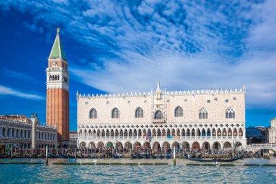 Naklejka Wenecja z placu św we Włoszech