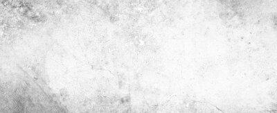 Naklejka White background on cement floor texture - concrete texture - old vintage grunge texture design - large image in high resolution