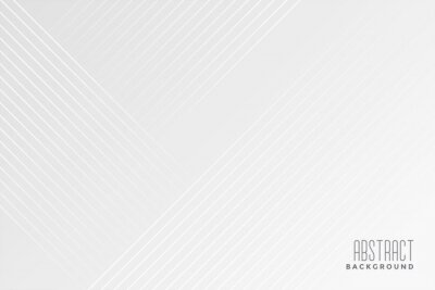 Naklejka white background with diagonal lines design