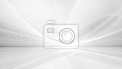 Naklejka white futuristic background