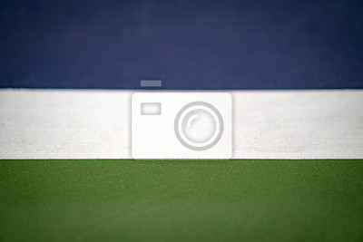 white line in blue and green tennis court, texture for background