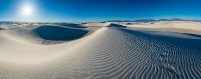 Naklejka White Sands National Park in New Mexico