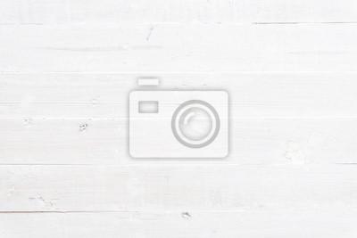 Naklejka white wooden background