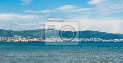 Naklejka widok na morze Słonecznego Brzegu, Bułgaria