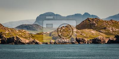 Naklejka Widok Suilven, Szkocja na wiosnę