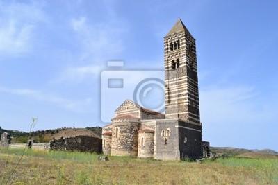 widok z tyłu Saccargia