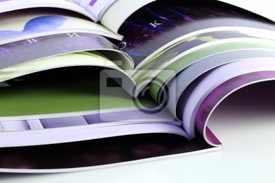 Wiele magazynów kolorowych