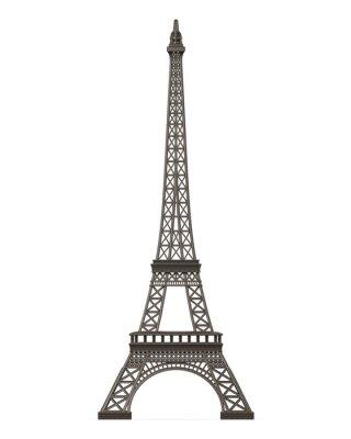 Naklejka Wieża Eiffla samodzielnie