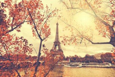 Naklejka Wieża Eiffla w Paryżu