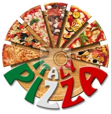 Włochy Pizza na pokładzie cięcia