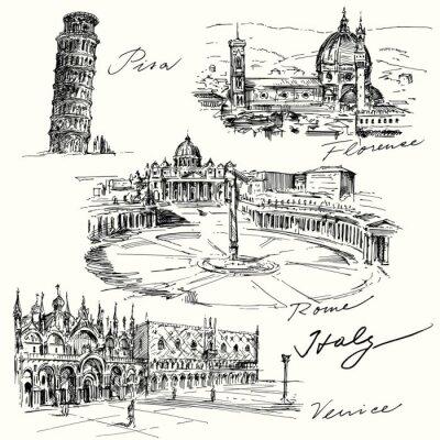 Naklejka Włochy - wyciągnąć rękę kolekcja