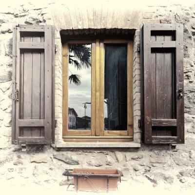 Naklejka Włoski Okno