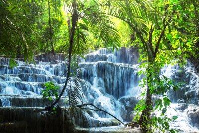 Naklejka Wodospad w Meksyku