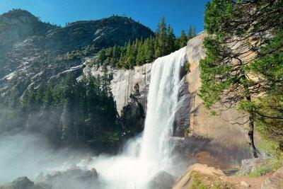 Naklejka Wodospady