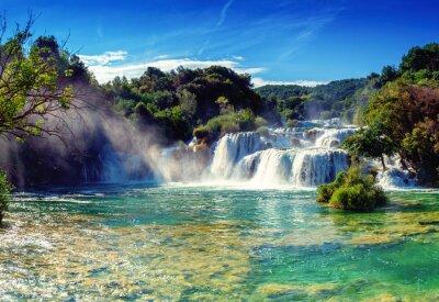 Naklejka Wodospady Krka