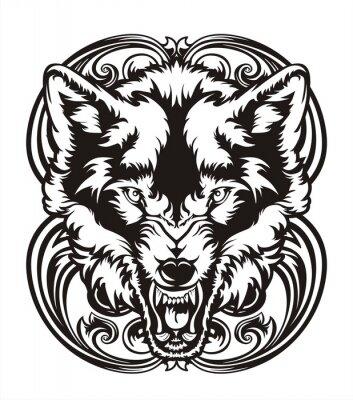 Naklejka WOLF