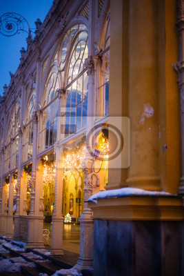 World-famous for its mineral springs, the town of Karlovy Vary (Karlsbad) was founded by Charles IV in the mid-14th century