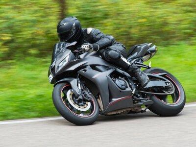 Naklejka Wyścigi motocyklowe