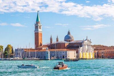 Naklejka wyspy San Giorgio w Wenecji