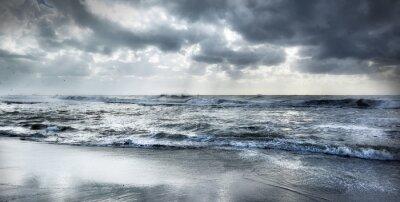 Naklejka Wzburzone morze