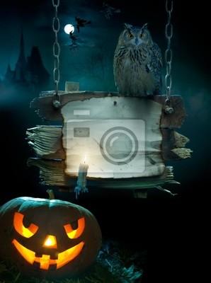 wzór tła dla Halloween party