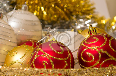 Xmas kulki i dekoracje